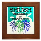 Framed Tile SHUSH