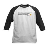 Frasier Crane Exaggeration Quote Baseball Jersey