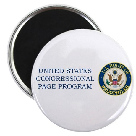 US House of Pedofiles Seal Magnet