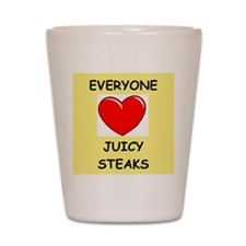 STEAK Shot Glass