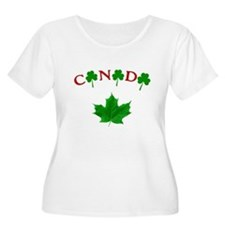 Canadian Irish Plus Size T-Shirt