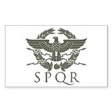 Roman Empire SPQR Bumper Stickers