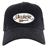 Cool Ukulele music Baseball Hat