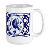 Blue Bird of Happiness Mug