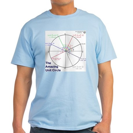 Amazing Unit Circle Light Color T-Shirt