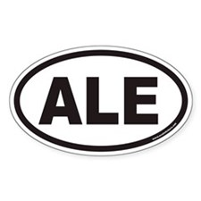 ALE Euro Oval Decal