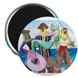 "The Voyages of Black Beak 2.25"" Magnet (10 pa"