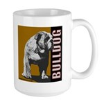 Large Bulldog Mug - Urban Bulldog II Design