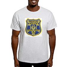 Trenton Police Ash Grey T-Shirt