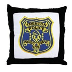 Trenton Police Throw Pillow