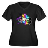 Disco Down - Music Shirt Plus Size T-Shirt