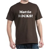 Mattie Rocks! Black T-Shirt