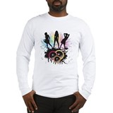 Party all night long - Music shirt Long Sleeve T-S