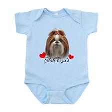 Love Shih Tzu's Infant Bodysuit