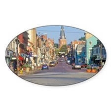 """Downtown Annapolis, Maryland"" Decal"
