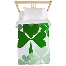 Faded Shamrocks-Trans Twin Duvet