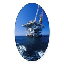 """Oil platform between Ventura and C Decal"