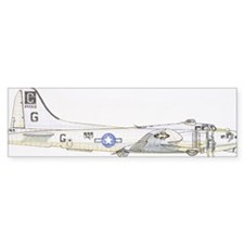 1943 Boeing B-17G Flying Fortress Bumper Sticker