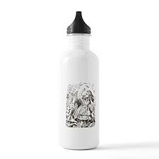 Alice in Wonderland Cards Water Bottle