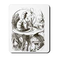 Alice in Wonderland Caterpillar Mousepad