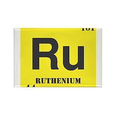 Ruthenium Element Rectangle Magnet (100 pack)