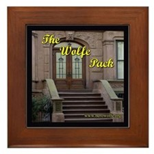 Nero Wolfe Framed Tile