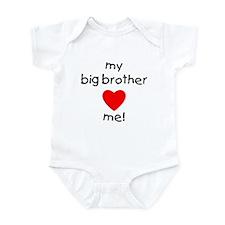 My big brother loves me Infant Bodysuit