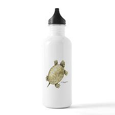 Northern Diamondback Turtle Water Bottle