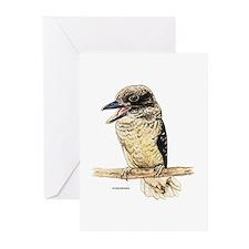 Kookaburra Bird Greeting Cards (Pk of 10)