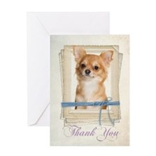 Chihuahua Thank You Card