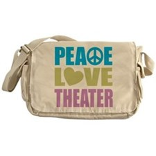 Funny Theater Messenger Bag