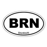 Bahrain Oval Decal