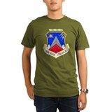 Air War College Black T-Shirt T-Shirt