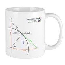 Amazing Unit Circle Small Mugs