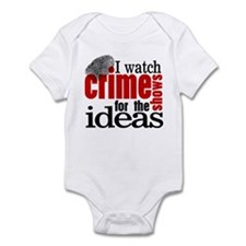 Crime Show Ideas Infant Bodysuit