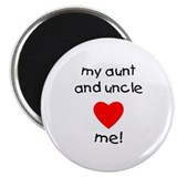 My aunt &amp; uncle love me 2.25&quot; Magnet (100 pack)
