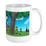 Snoopy and woodstock Large Mug (15 oz)