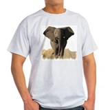 THE ELEPHANT Ash Grey T-Shirt