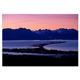 Homer Spit at Sunset, Kenai Peninsula, Alaska, Kac