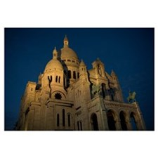 Low angle view of a basilica, Basilique Du Sacre C