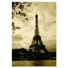 Tower at the riverside, Eiffel Tower, Champ De Mar