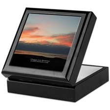 Sunset at Hern's Cove Keepsake Box