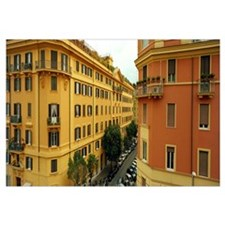 Apartments in a city, Prati District, Rome, Italy