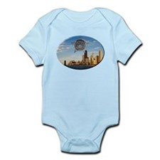Chicago Police Skyline Body Suit
