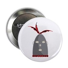 "Eleggua Head 2.25"" Button (10 pack)"
