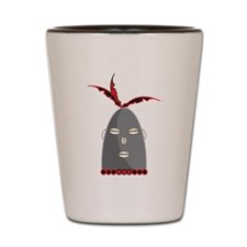 Eleggua Head Shot Glass