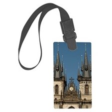 Ornate church spires Luggage Tag
