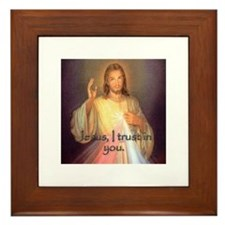 Divine Mercy Framed Tile