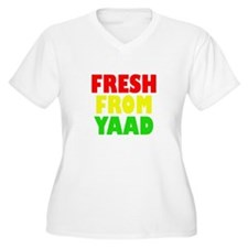 FRESH FROM YAAD RASTA Plus Size T-Shirt