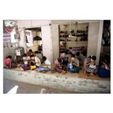 Group of women working in a workshop, Bagan, Manda